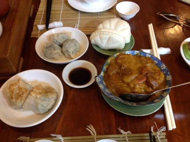 Vegetarian Dim Sum, Lock Cha Tea House
