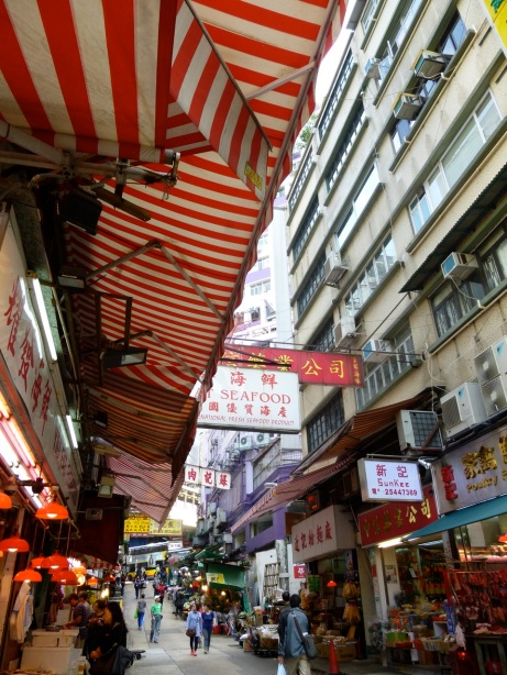 Central District HK awning