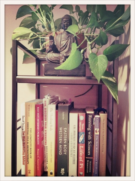 80 buddha and books